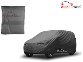 Autofurnish Matty Grey Car Body Cover For Hyundai i20 - Grey