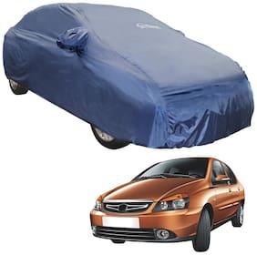 Autofurnish Parker Blue Car Body Cover For Tata Indigo CS (Blue)