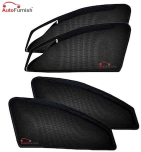Autofurnish Magnetic Zipper Sun Shades Car Curtains for Mahindra XUV 500 (6 pc.)