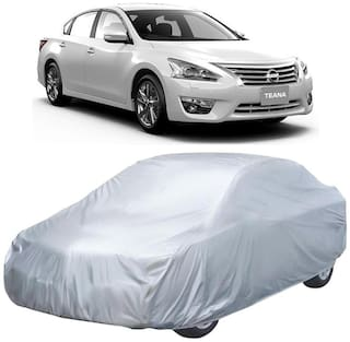 Autofurnish Silver Car Body Cover For Nissan Teana