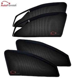 Autofurnish Magnetic Zipper Sun Shades Car Curtains for Hyundai Creta (4 pc.)
