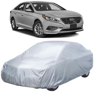 Autofurnish Silver Car Body Cover For Hyundai Sonata Transform