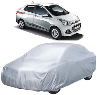 Autofurnish Silver Car Body Cover For Hyundai Xcent