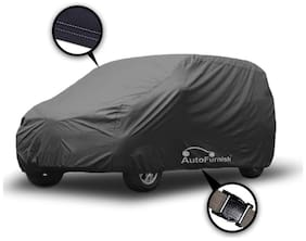 Autofurnish Matty Grey Car Body Cover For Renault KWID - Grey