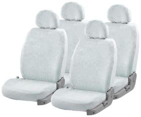 Autofurnish (TW-301) Towel Car Seat Cover For TATA Bolt (White)