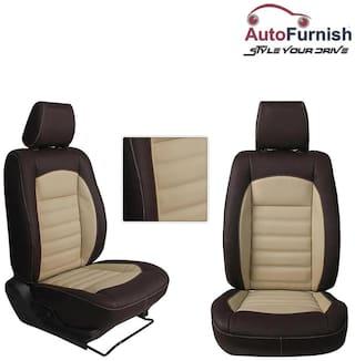 Autofurnish (HT-501 Belles) Mahindra XUV 500 3D Custom PU Leather Car Seat Covers