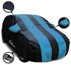 Autofurnish Stylish Aqua Stripe Car Body Cover For Maruti Ciaz - Arc Blue
