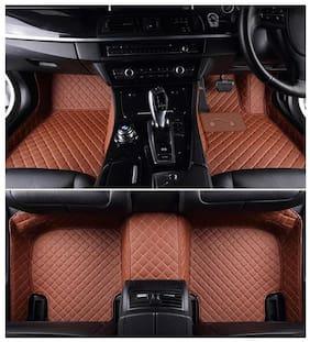 Autofurnish 5D Premium Custom Fitted Car Mats For Maruti Suzuki Swift - Tan