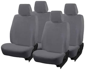 Autofurnish (TW-302)  Towel Car Seat Cover For Hyundai i10 (Grey)