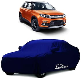 Autofurnish Parker Blue Car Body Cover For Maruti Vitara Brezza