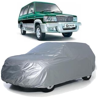 Autofurnish Car Body Cover For Toyota Qualis - Silver