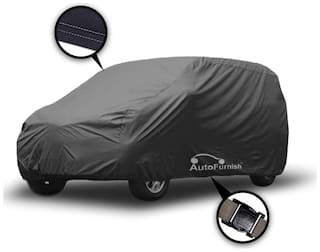 Autofurnish Matty Grey Car Body Cover For Hyundai Eon - Grey