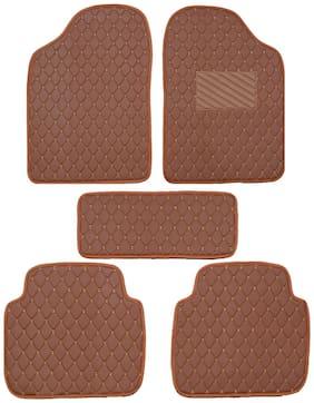 Autofurnish 2D Premium Car Mats For Honda City iVtec 2009 - Tan
