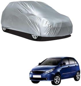 Autofurnish Silver Car Body Cover For Tata Indica Vista - Silver