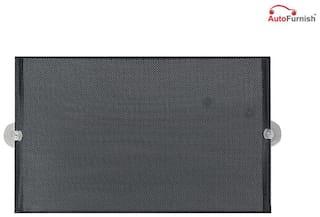 Autofurnish Stick on Curtain For Car Windows (Set of 4) Black Color for Chevrolet Optra Magnum [2007-2012]