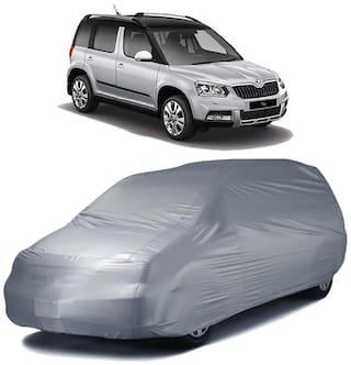 Autofurnish Car Body Cover For Skoda Yeti - Silver