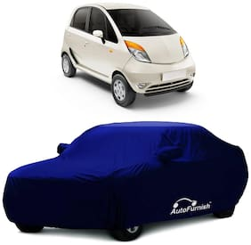 Autofurnish Parker Blue Car Body Cover For Tata Nano