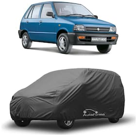 Autofurnish Matty Grey Car Body Cover For Maruti 800 - Grey