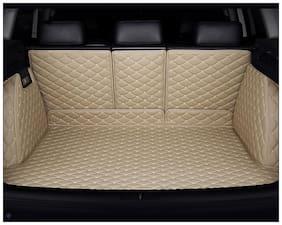 Autofurnish 7D Luxury Custom Fitted Car Trunk Mat for Maruti Suzuki Baleno - Beige