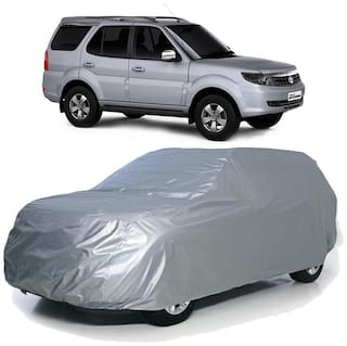 Autofurnish Car Body Cover For Tata Safari - Silver