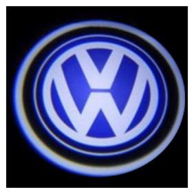 Autofurnish Car Door Welcome Light LED Projection Ghost Shadow Light Laser VOLKSWAGEN Logo