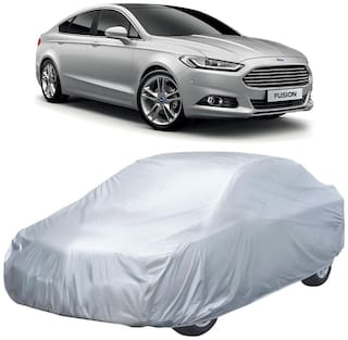 Autofurnish Silver Car Body Cover For Ford Fusion