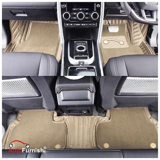 Buy Autofurnish 7d Carbon Fiber Style Custom Fitted Car Mats For