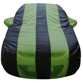 Autofurnish Stylish Green Stripe Car Body Cover