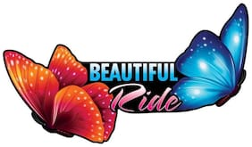 Car Sticker Graphic Decals Beautiful Ride Styling Accessories Autographix 1pc