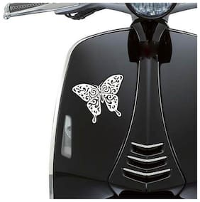 Autographix Fancy Butterfly Tattoo Styling  Decals Sticker For Girls Suitbale To Universal Scooters