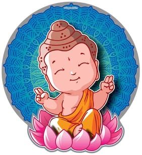 Car Sticker Graphic Decal Happy Buddha Car Styling Accessories Autographix