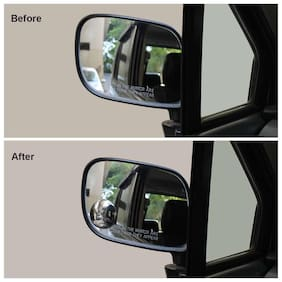 Autographix Universal Adjustable Round Blind Spot Mirror For Cars