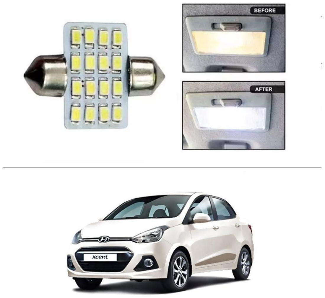 Buy Autostark 16 Smd Led 31mm Dome Roof Light White Hyundai Xcent
