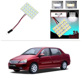 AutoStark 24 SMD White LED Lamp Car Dome Ceiling Roof Interior Reading Light-Tata Indigo Xl
