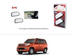 AutoStark 3r Rectangle Car Blind Spot Side Rear View Mirror 3R066-Mahindra TUV300
