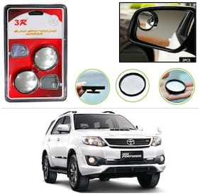 AutoStark 3R Round Shaped Blind Spot Rear Side Mirror For Toyota Fortuner