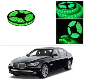AutoStark 5 m Waterproof Cuttable LED Lights Strip Roll-Green- BMW 5-Series Old -