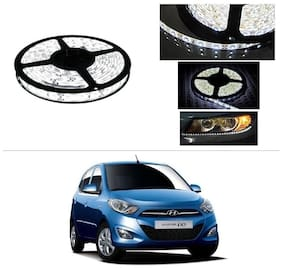 AutoStark 5 m Waterproof Cuttable LED Lights Strip Roll-White- Hyundai Grand I10