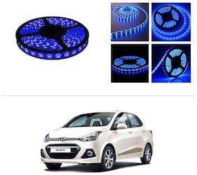 AutoStark 5 m Waterproof Cuttable LED Lights Strip Roll-Blue- Hyundai Xcent (2014 Upwards)