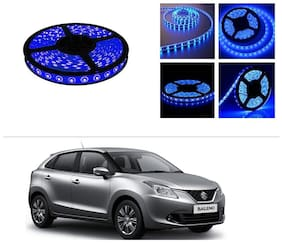 AutoStark 5 m Waterproof Cuttable LED Lights Strip Roll-Blue- Maruti Suzuki New Baleno