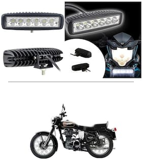 AutoStark 6 Led Fog Light/Work Light Bar Spot Beam Off Road Driving Lamp For Royal Enfield Bullet 350