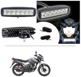 AutoStark 6 Led Fog Light/Work Light Bar Spot Beam Off Road Driving Lamp For Honda CB Shine