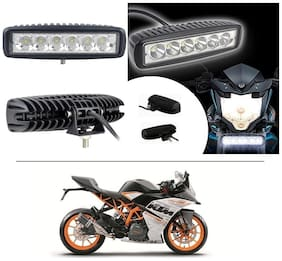 AutoStark 6 Led Fog Light/Work Light Bar Spot Beam Off Road Driving Lamp For KTM RC 390