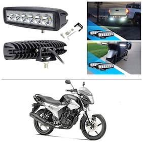 AutoStark 6 LED 18W CREE Fog Light/Work Light Bar Spot Beam Off Road Driving Lamp Pack of 2 for Yamaha SZ R
