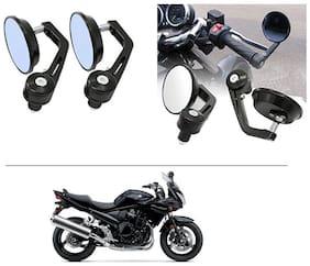 AutoStark 7/8 22cm Motorcycle Rear View Mirrors Handlebar Bar End Mirrors - Suzuki Bandit
