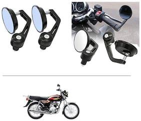 AutoStark 7/8 22cm Motorcycle Rear View Mirrors Handlebar Bar End Mirrors - Yamaha Crux