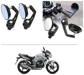 AutoStark 7/8 22cm Motorcycle Rear View Mirrors Handlebar Bar End Mirrors - Hero Hunk