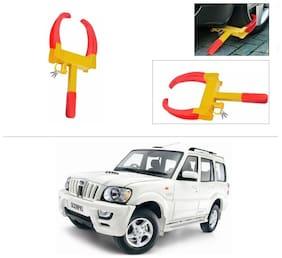 AutoStark  Anti-Theft Car Wheel/Rim Lock-Mahindra Scorpio