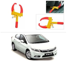AutoStark  Anti-Theft Car Wheel/Rim Lock-Honda CRV (Till 2014)