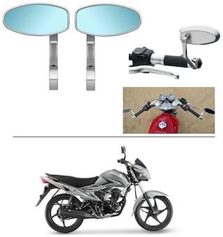 AutoStark Bike Rear View Mirror Set of 2 Chorme - Suzuki Hayate